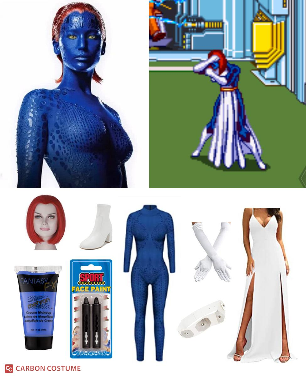 Mystique from X-Men Cosplay Guide