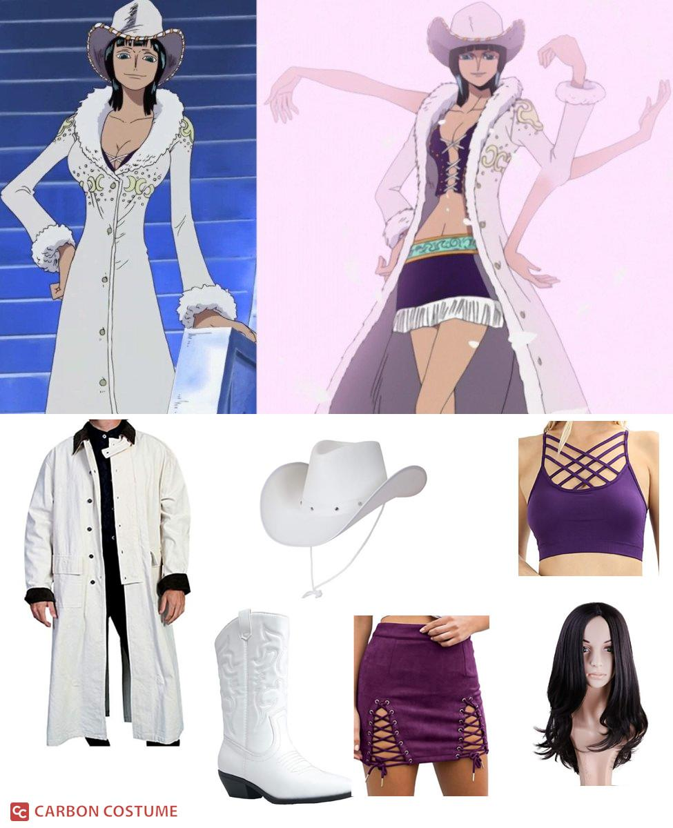 Nico Robin's White Cowboy Outfit from One Piece Cosplay Guide