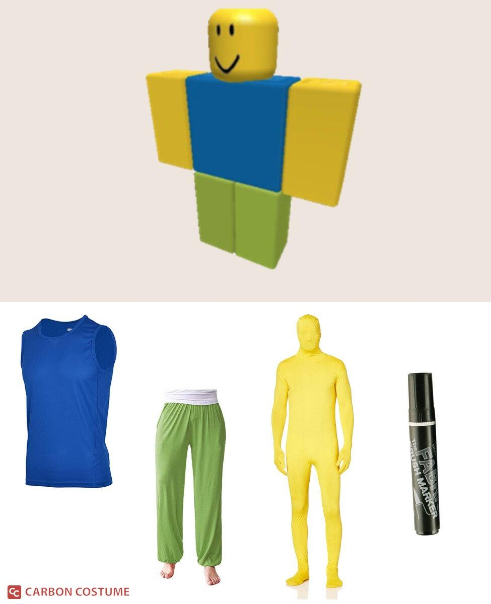 Noob from Roblox Cosplay Guide
