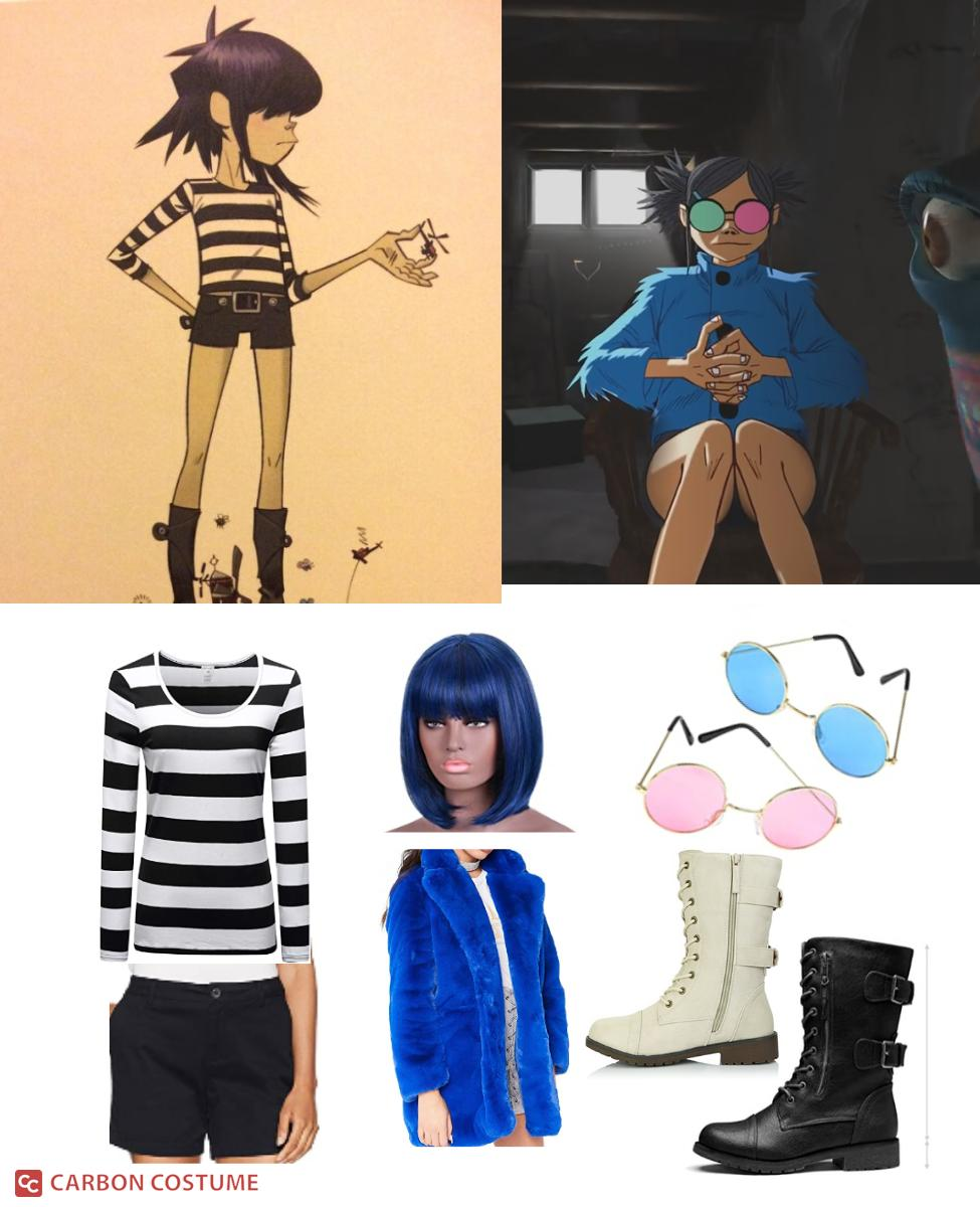 Noodle from Gorillaz Cosplay Guide