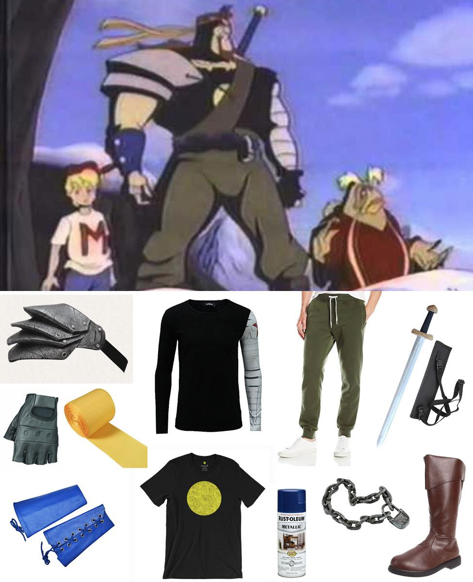 Norman from Mighty Max Cosplay Guide