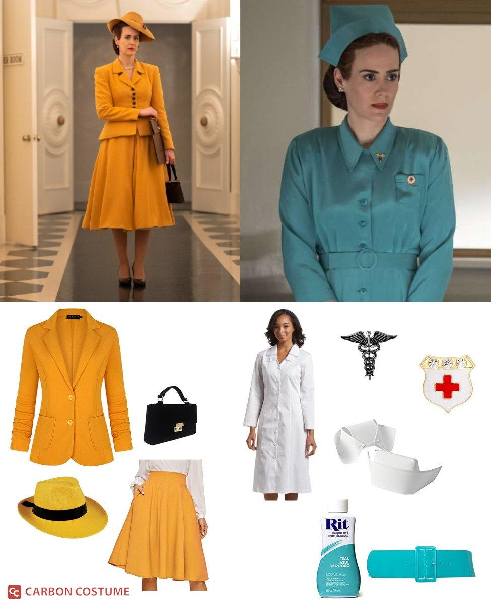 Nurse Mildred Ratched from Ratched Cosplay Guide