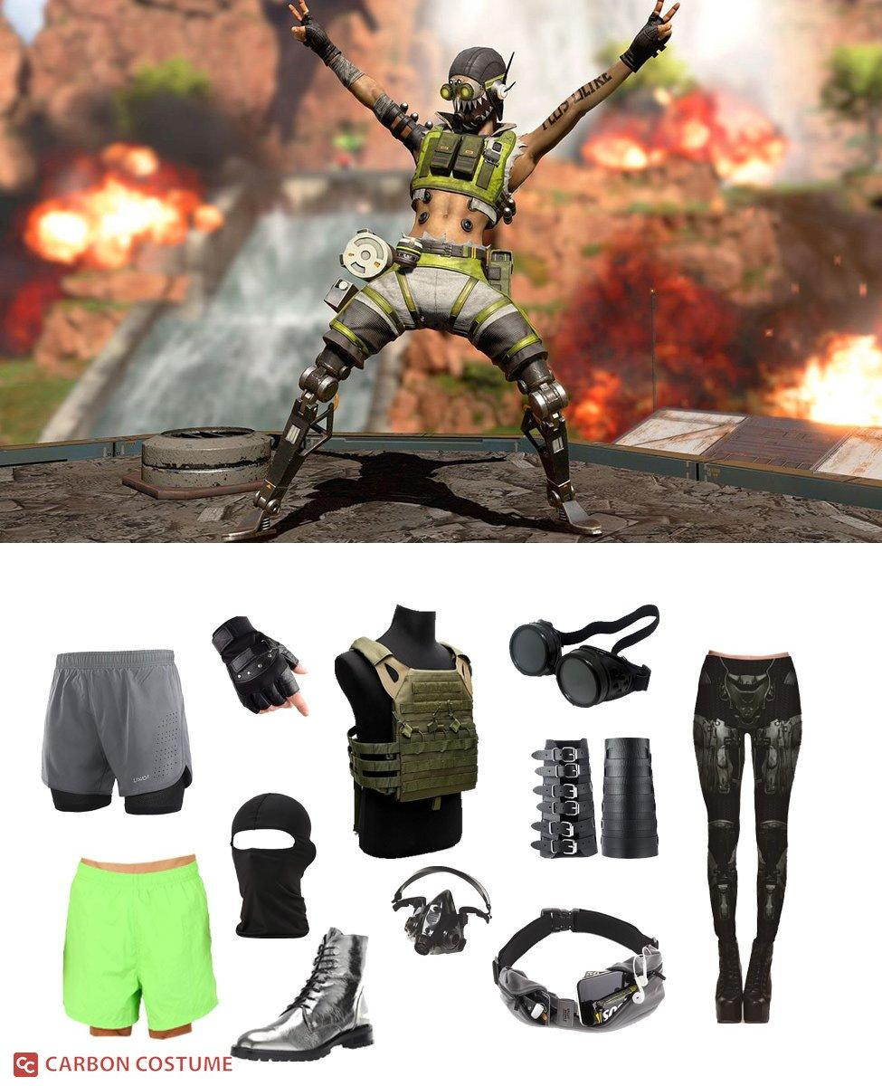 Octane from Apex Legends Cosplay Guide