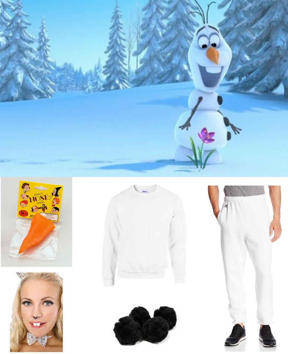 Olaf the Snowman Cosplay Guide