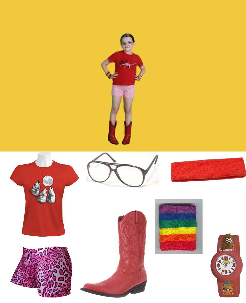 Olive Hoover from Little Miss Sunshine Cosplay Guide