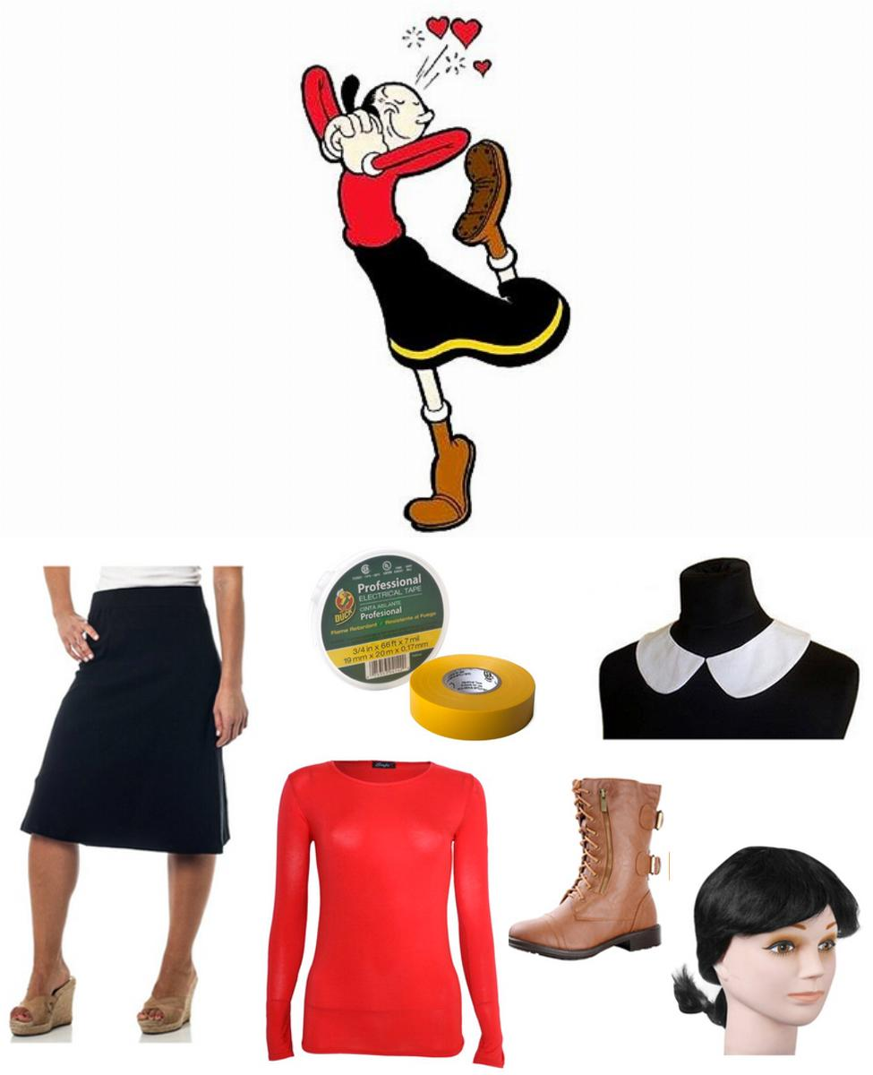 Olive Oyl Cosplay Guide