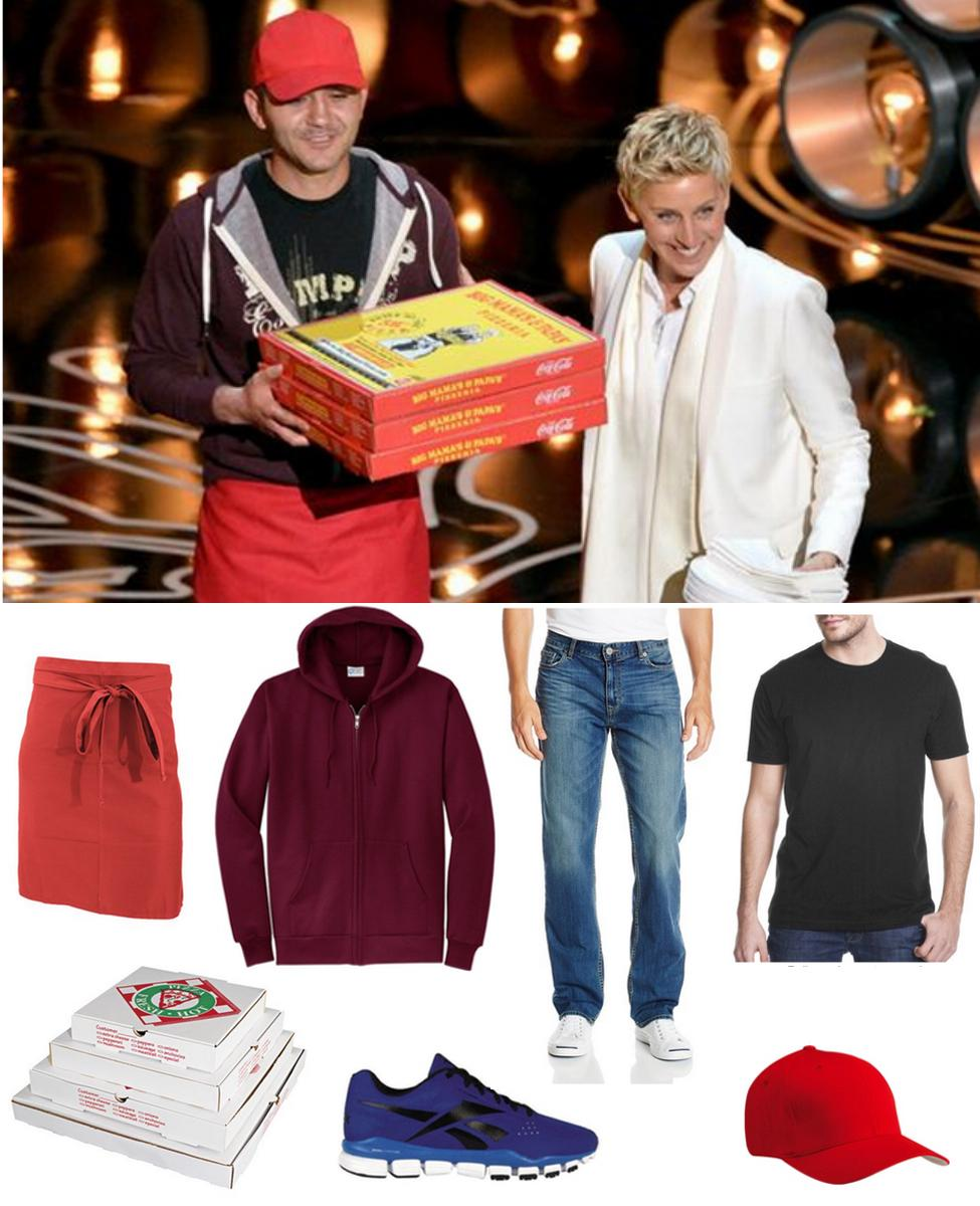 Oscars Pizza Delivery Guy Cosplay Guide