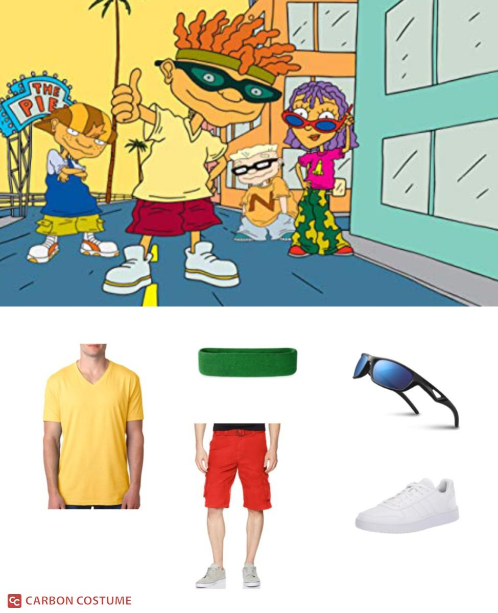 Otto from Rocket Power Cosplay Guide