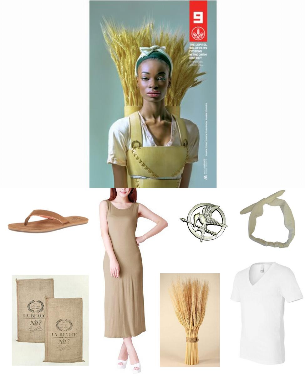 Panem District 9 Citizen Cosplay Guide