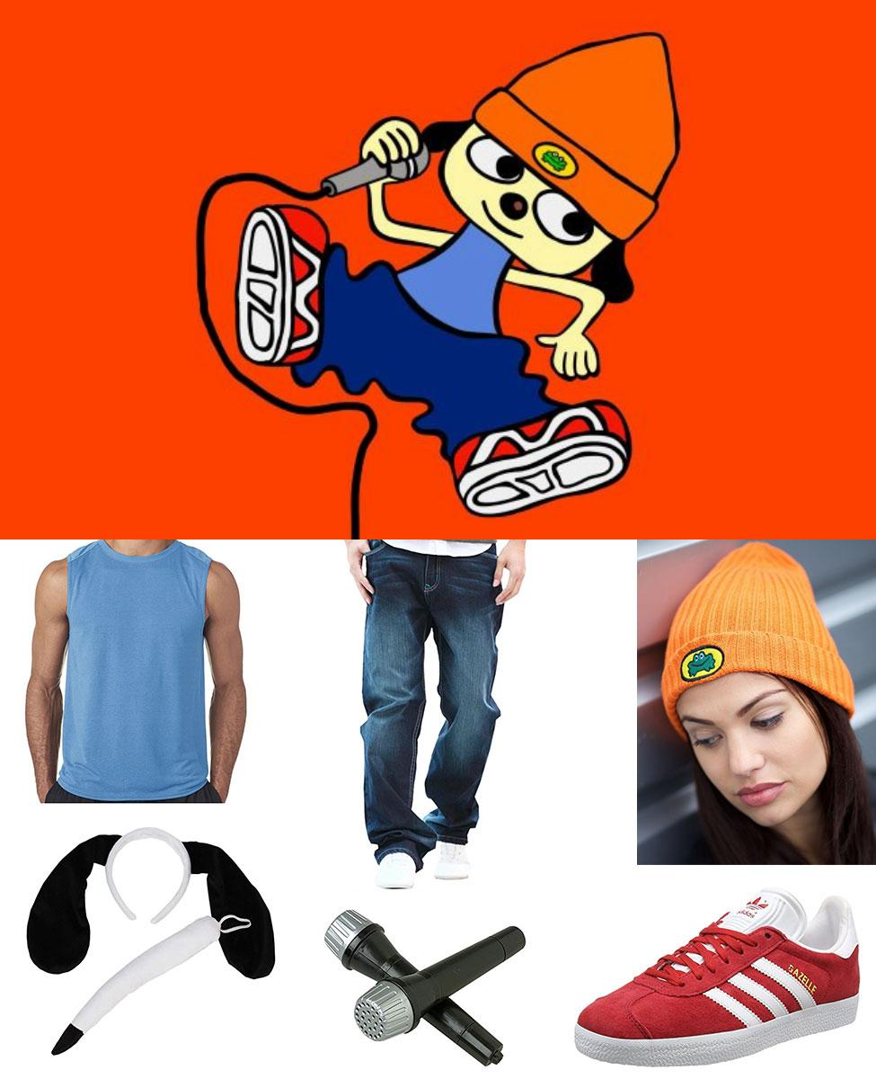 PaRappa the Rapper Cosplay Guide