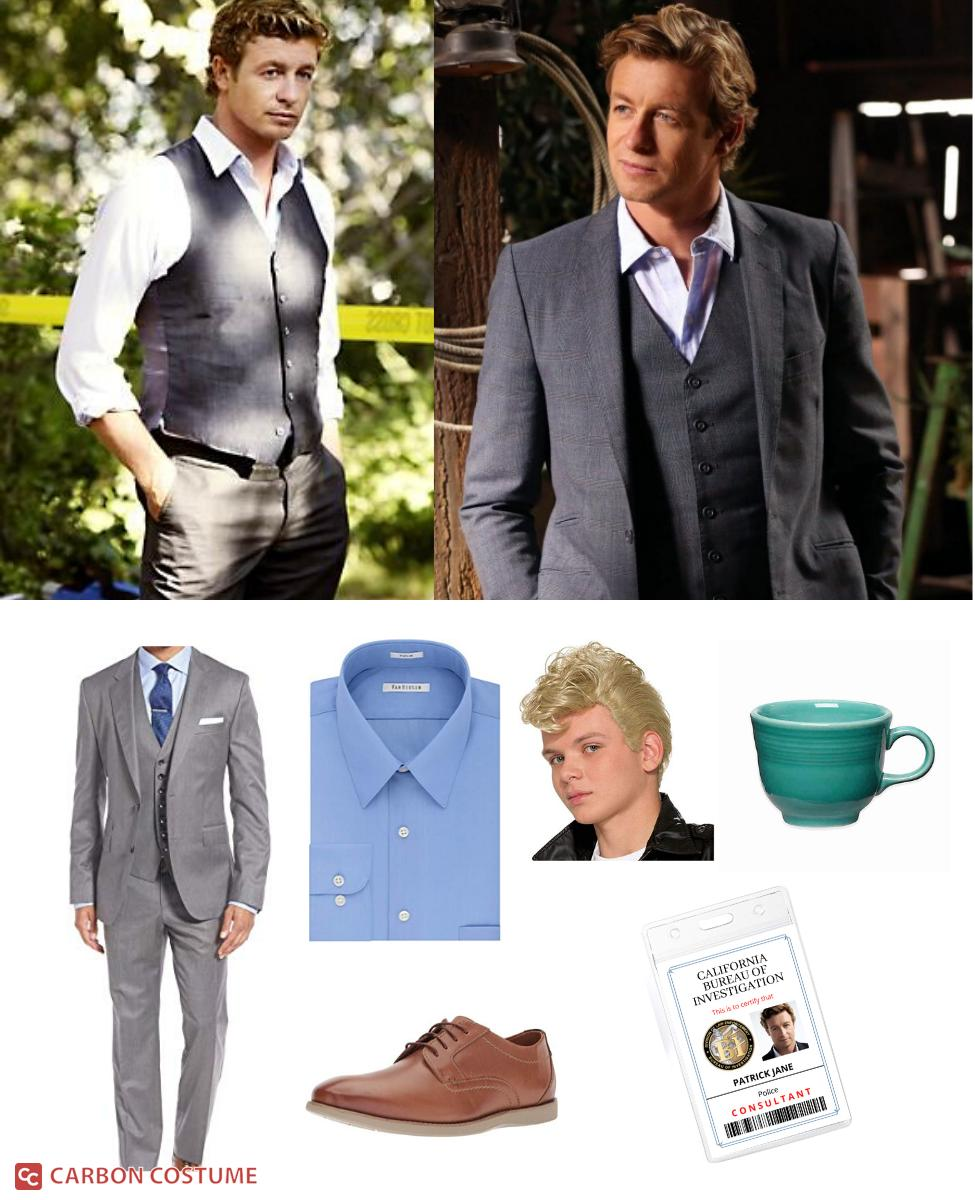 Patrick Jane from The Mentalist Cosplay Guide