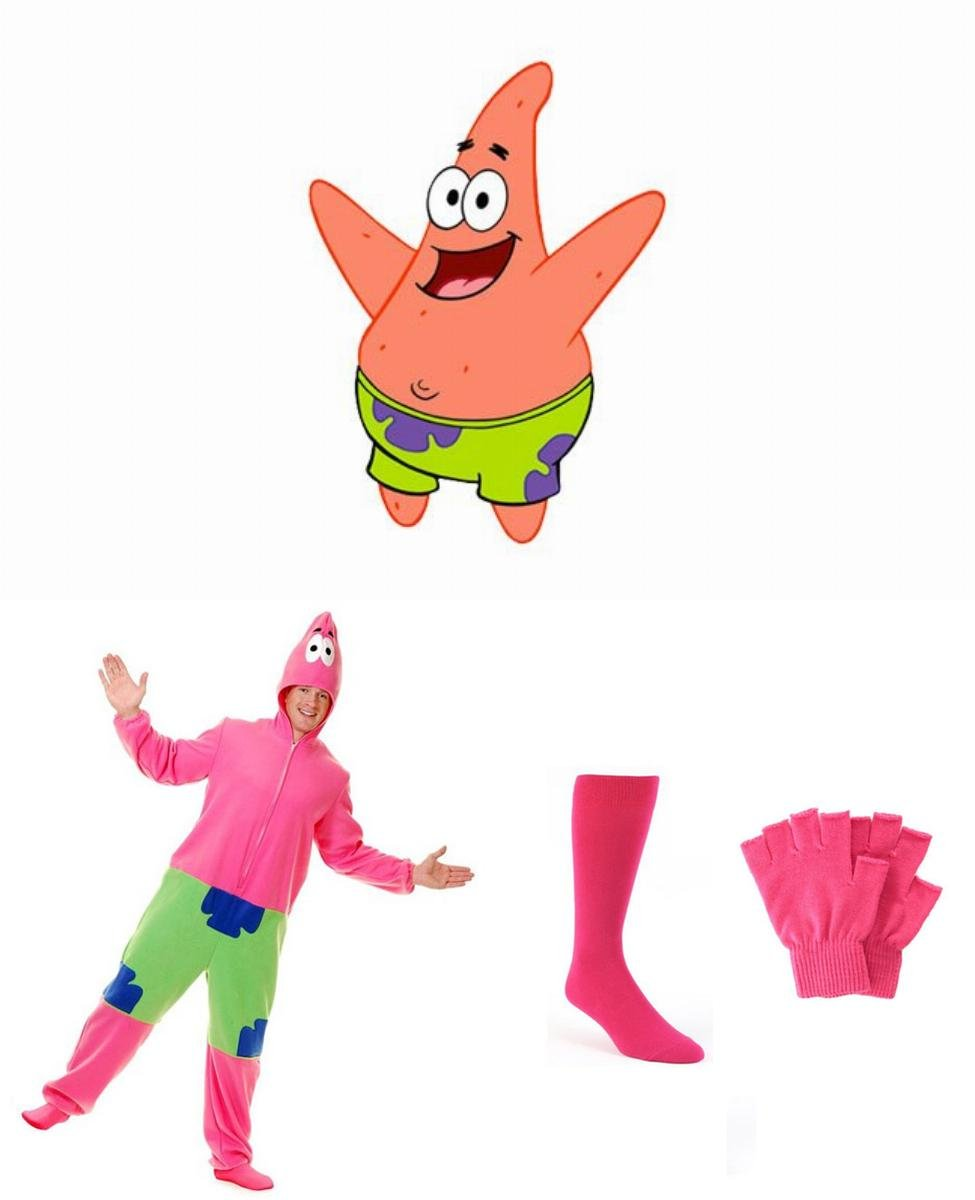 Patrick Star Cosplay Guide