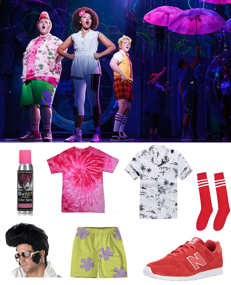 Patrick Star from the SpongeBob Musical Cosplay Guide