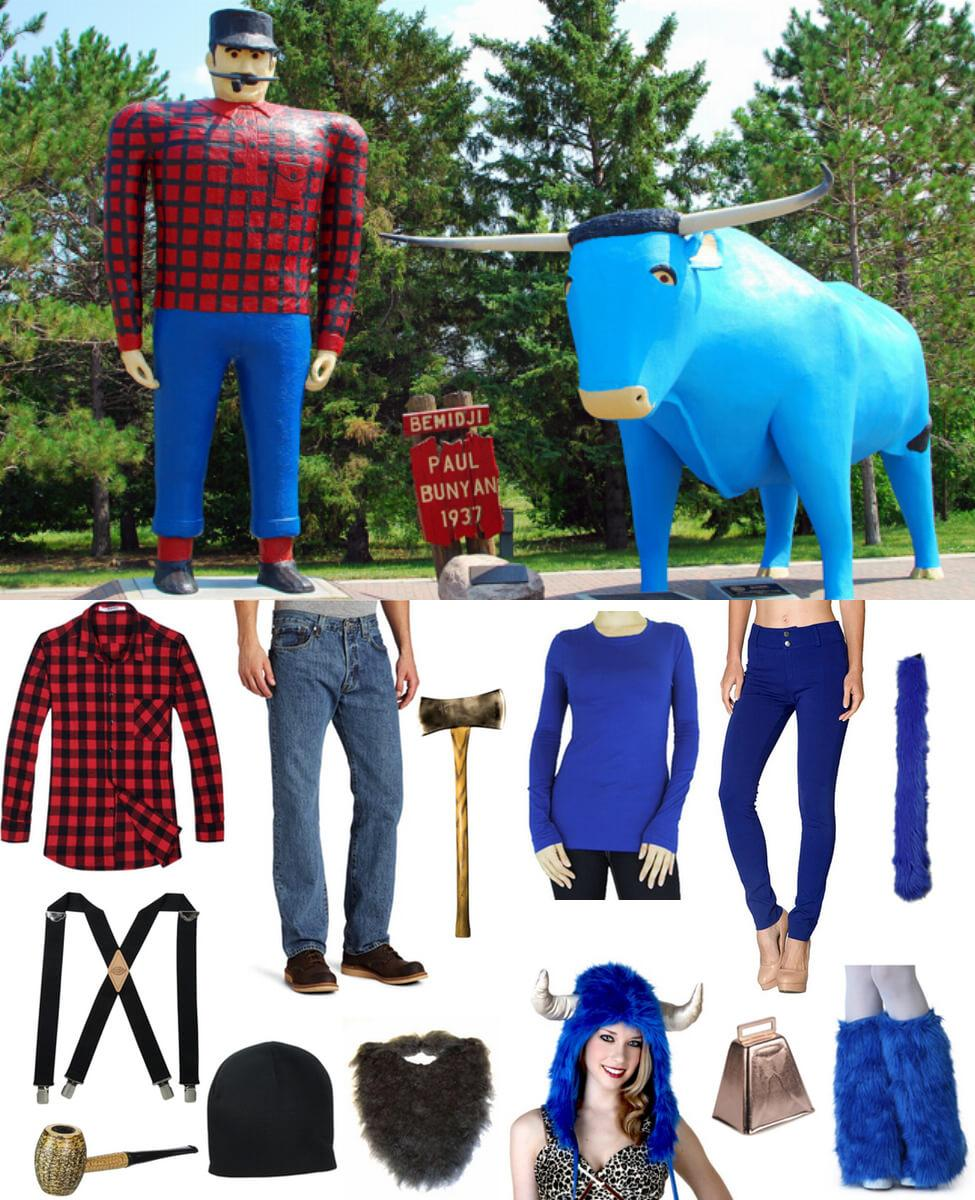Paul Bunyan and Babe the Blue Ox Cosplay Guide