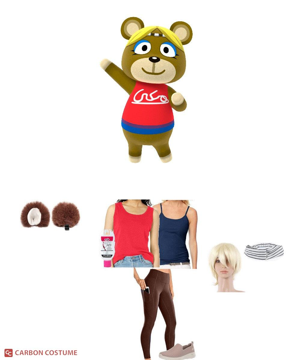 Paula from Animal Crossing Cosplay Guide