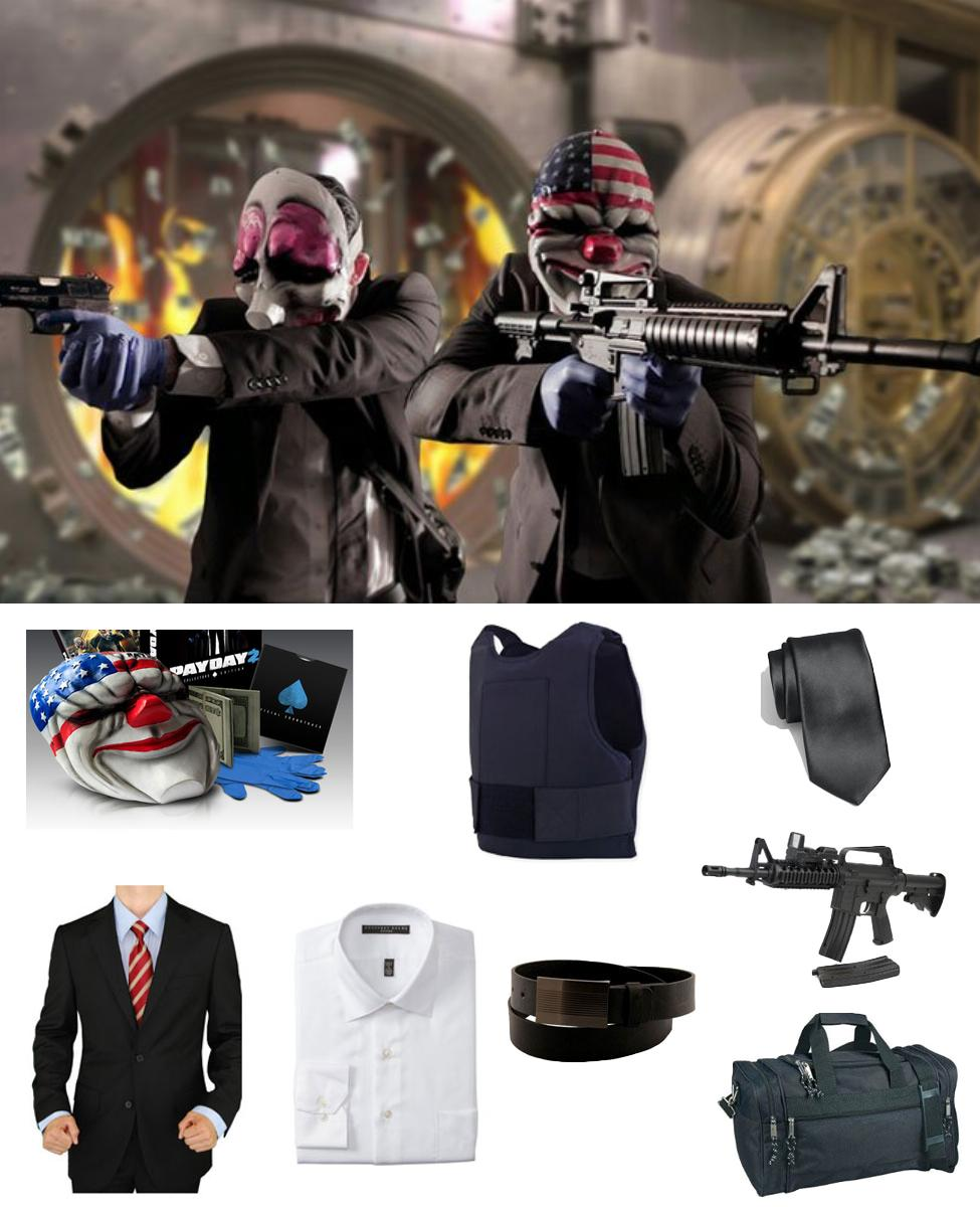 Payday 2 Cosplay Guide