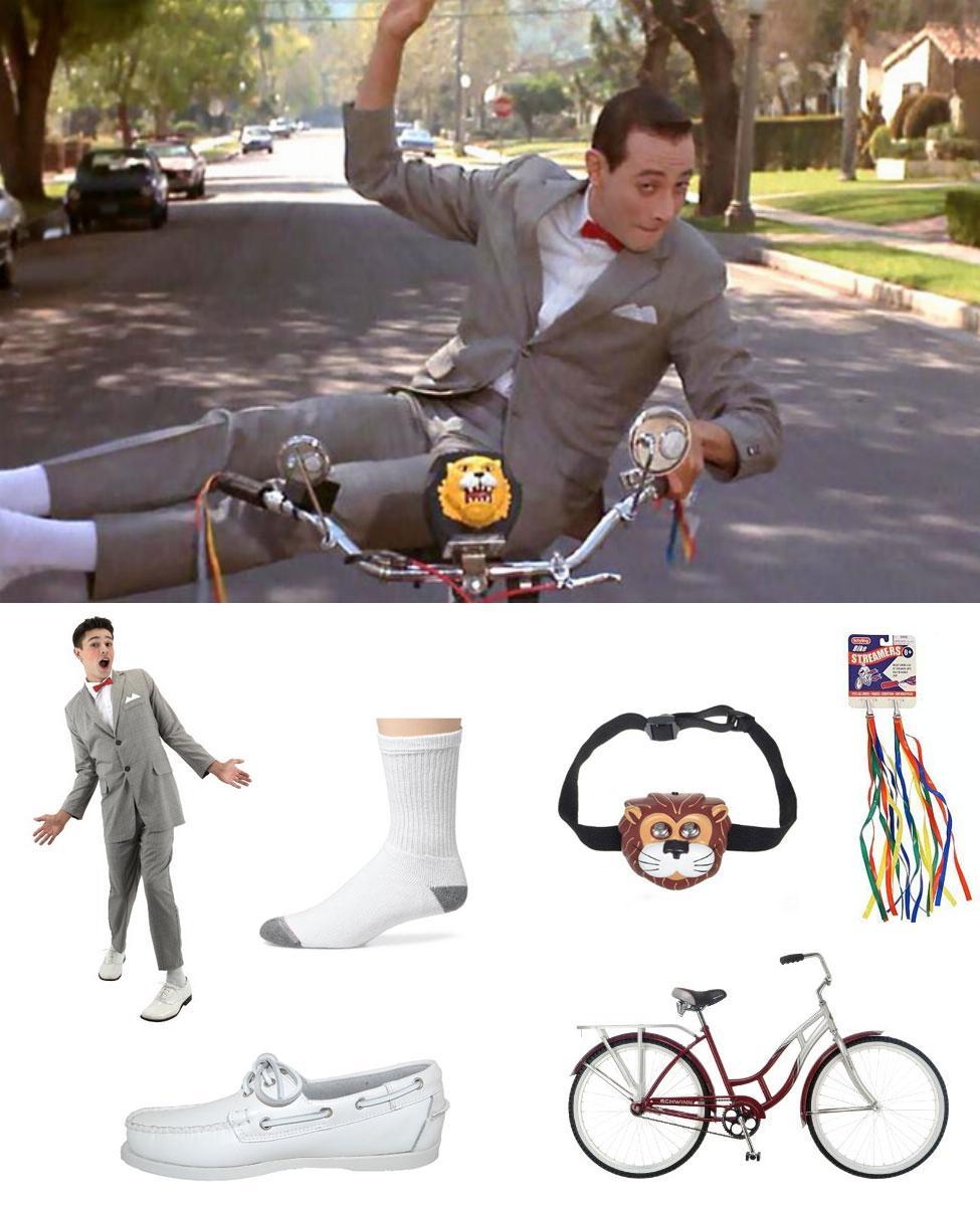 Pee-wee Herman Cosplay Guide
