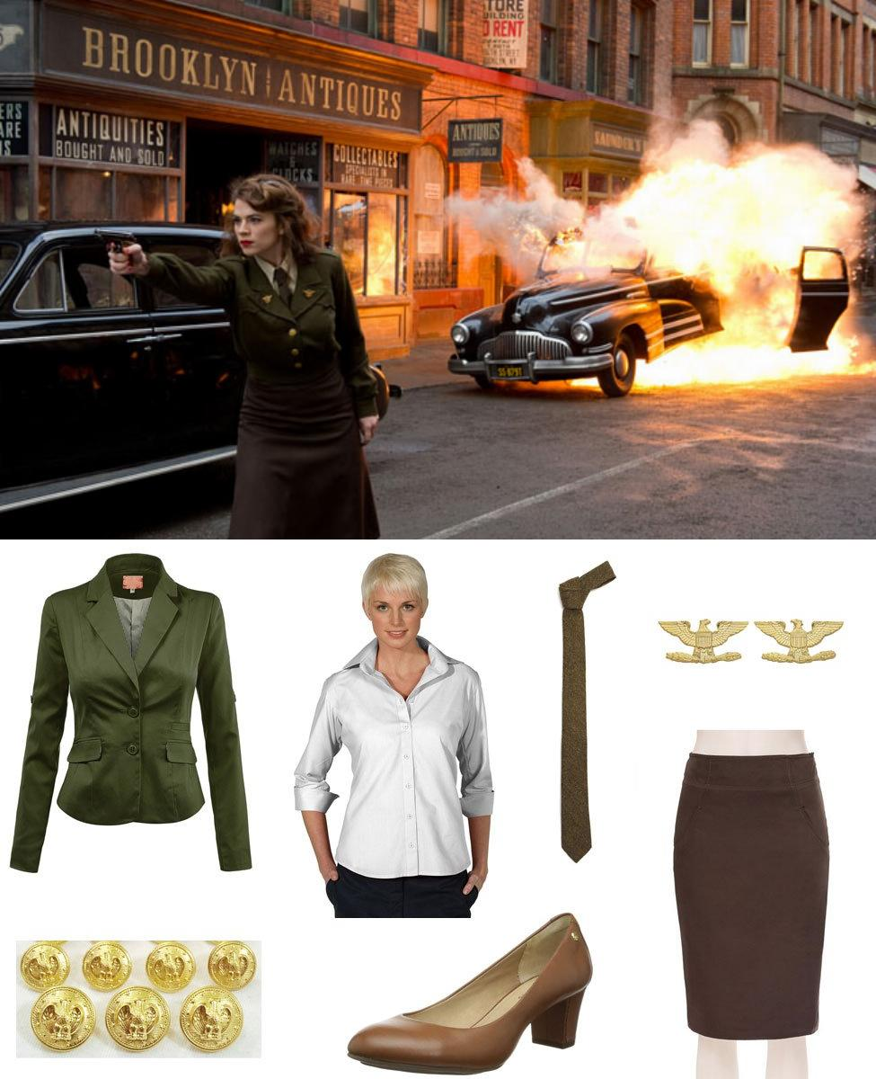 Peggy Carter Cosplay Guide