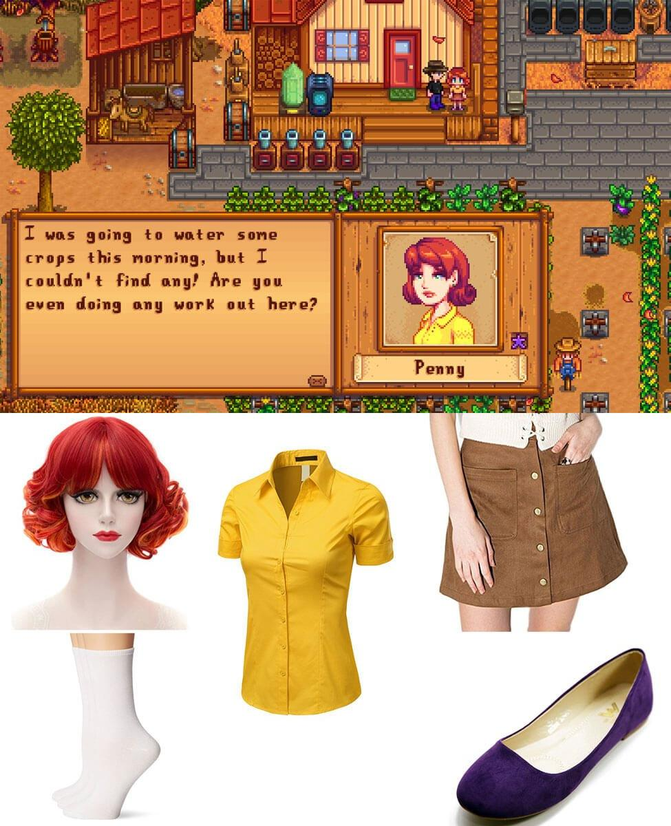 Penny from Stardew Valley Cosplay Guide