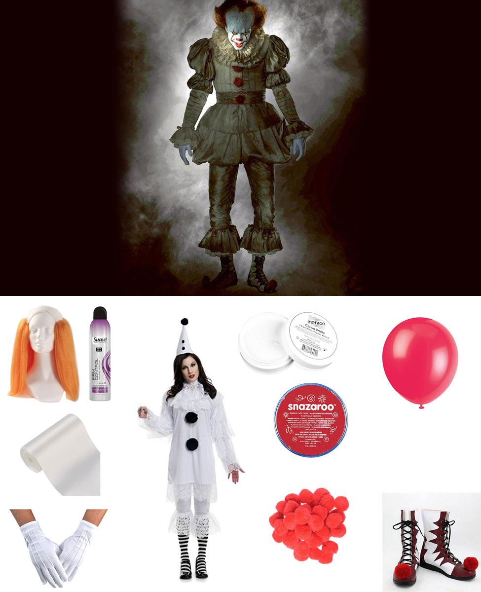 Pennywise the Dancing Clown from It (2017) Cosplay Guide