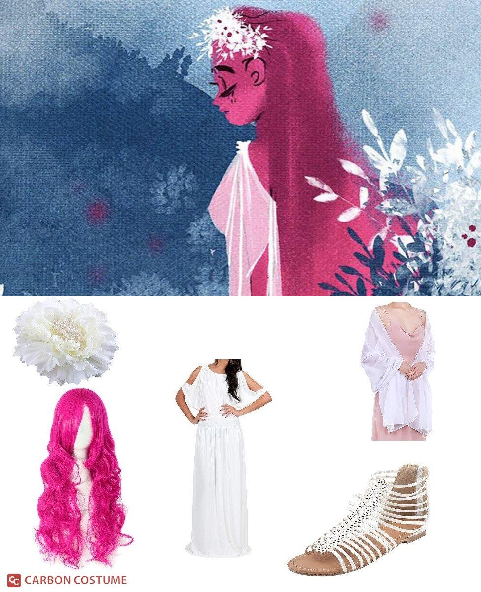 Persephone from Lore Olympus Cosplay Guide