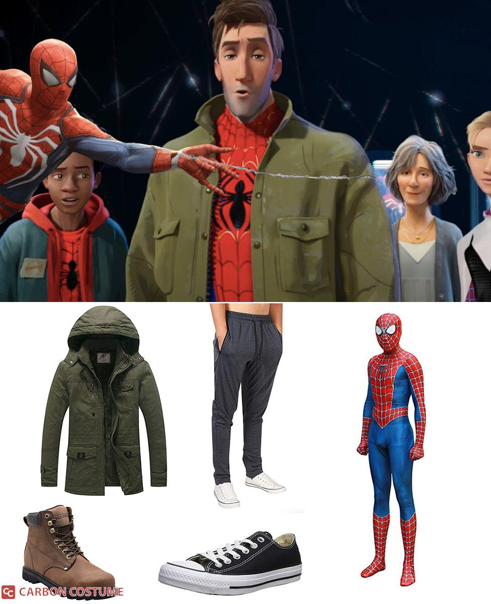 Peter B. Parker from Spider-Man: Into the Spider-Verse Cosplay Guide