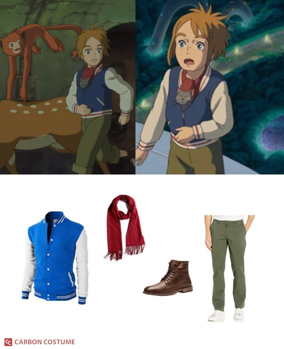 Peter from Mary and The Witch's Flower Cosplay Guide
