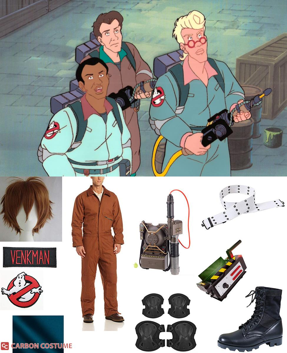 Peter Venkman from The Real Ghostbusters Cosplay Guide