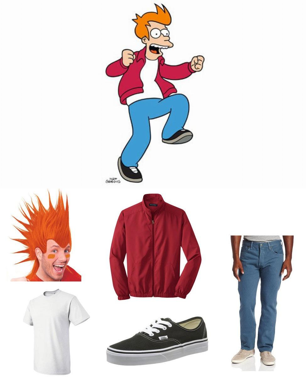 Philip J. Fry Cosplay Guide
