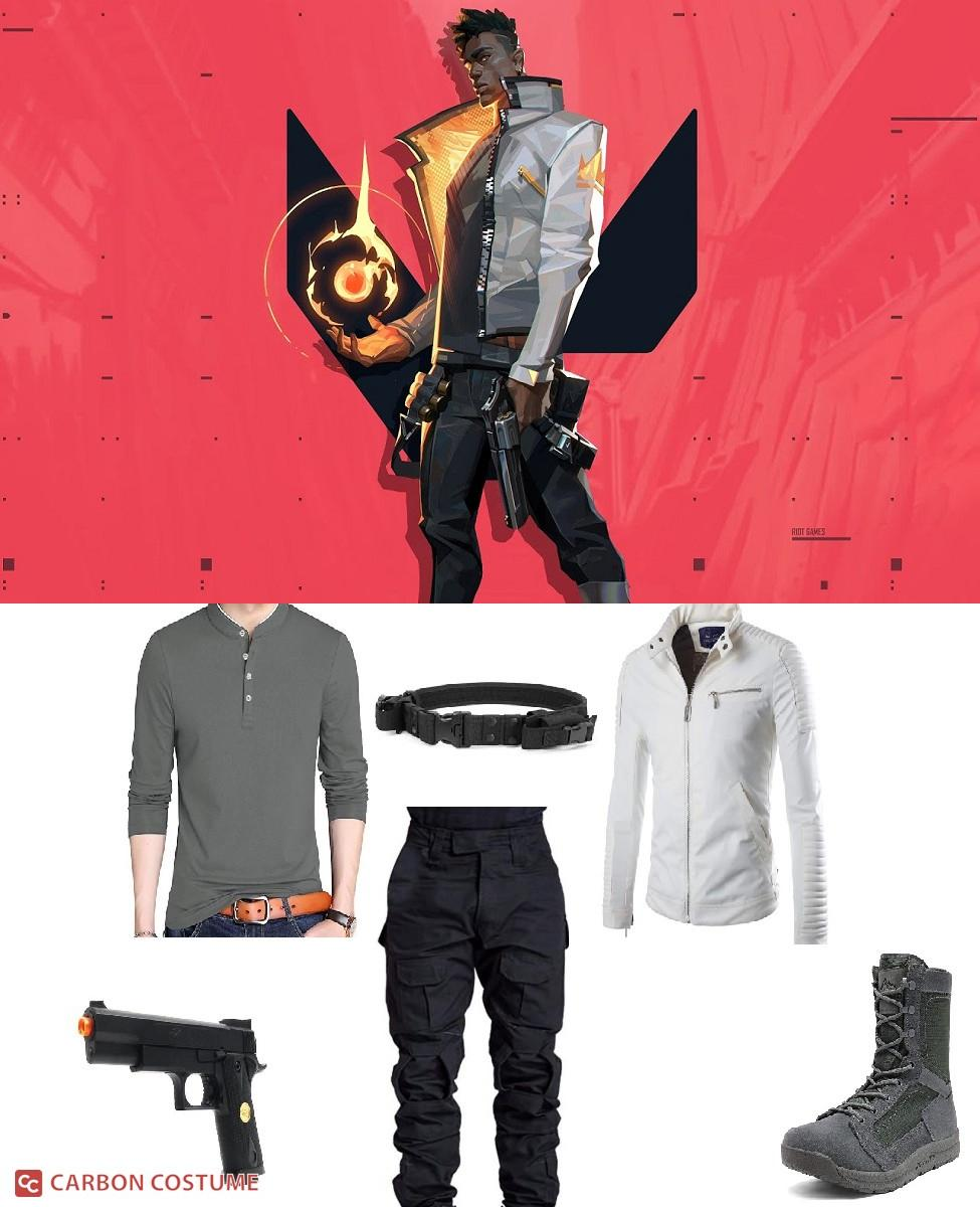Phoenix from Valorant Cosplay Guide