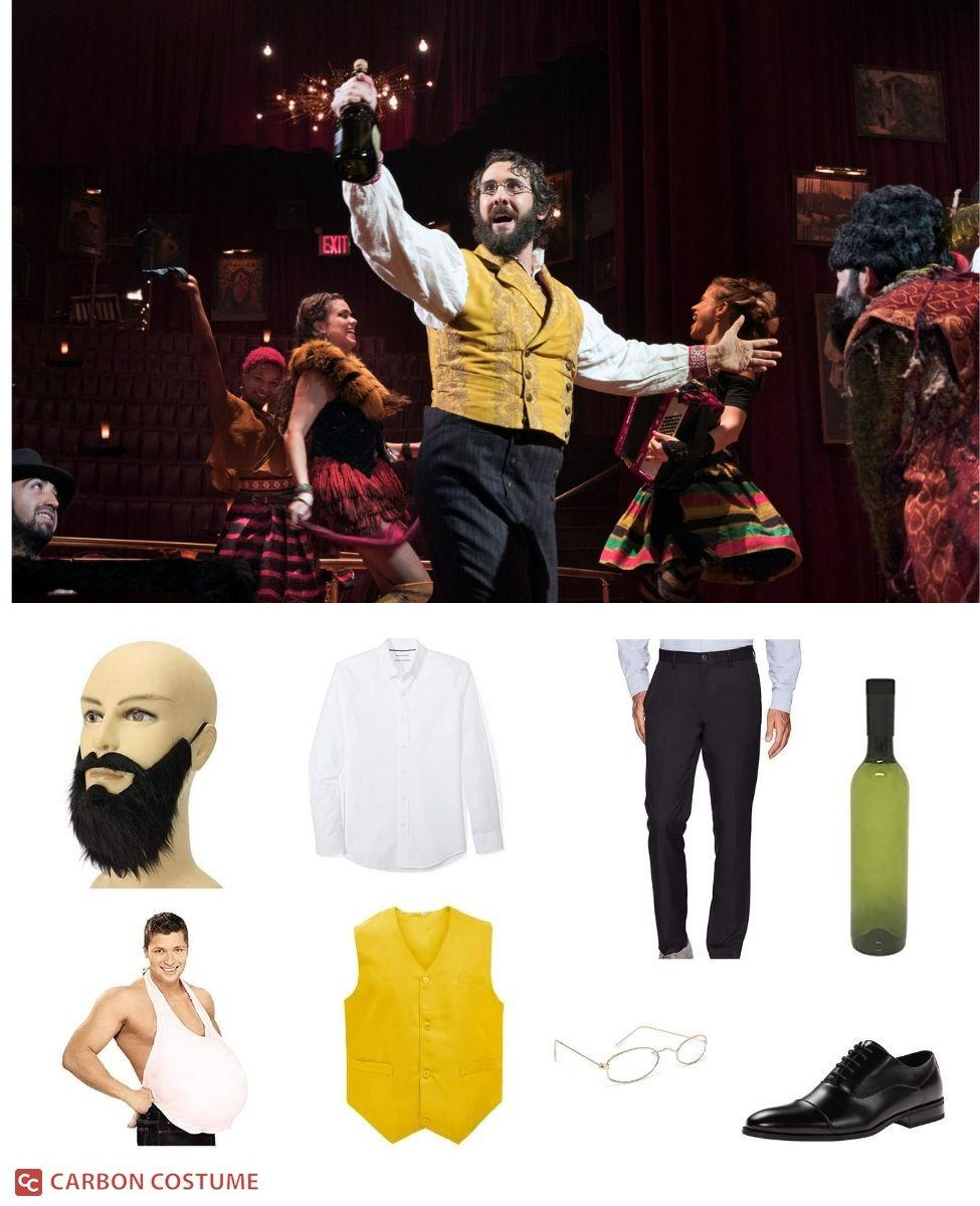 Pierre Bezukhov from Natasha, Pierre and the Great Comet of 1812 Cosplay Guide