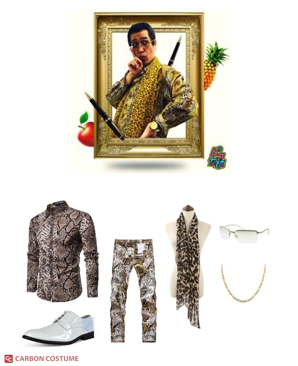 Pikotaro from Pen Pineapple Apple Pen Cosplay Guide