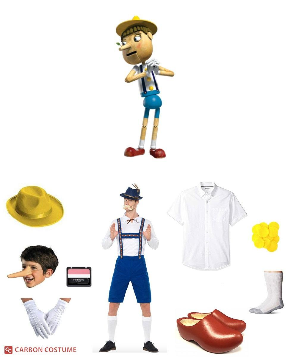 Pinocchio from Shrek Cosplay Guide