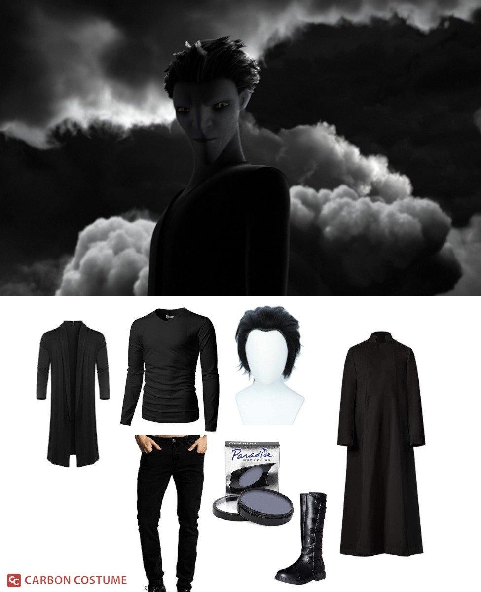 Pitch Black from Rise of the Guardians Cosplay Guide