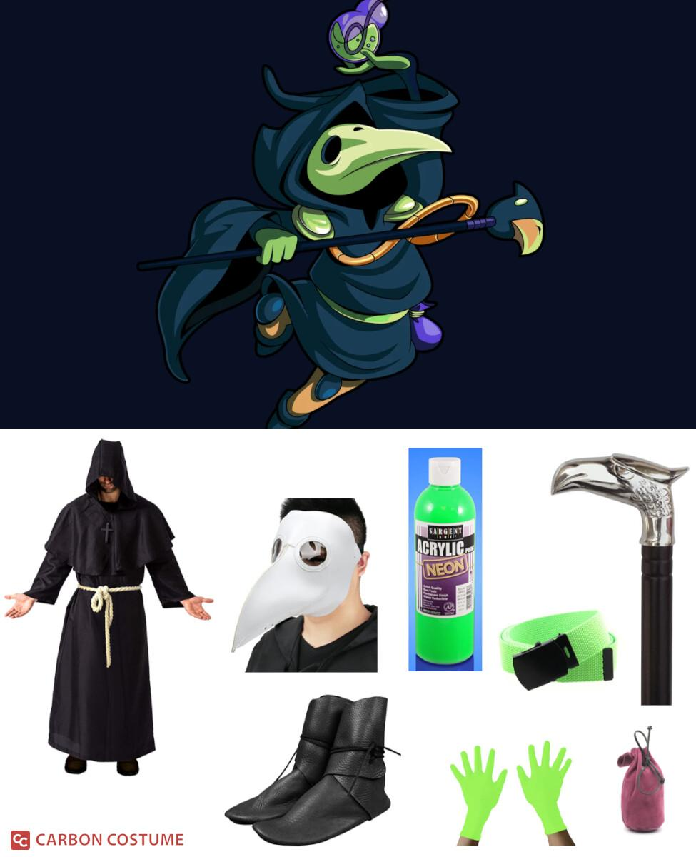 Plague Knight from Shovel Knight Cosplay Guide