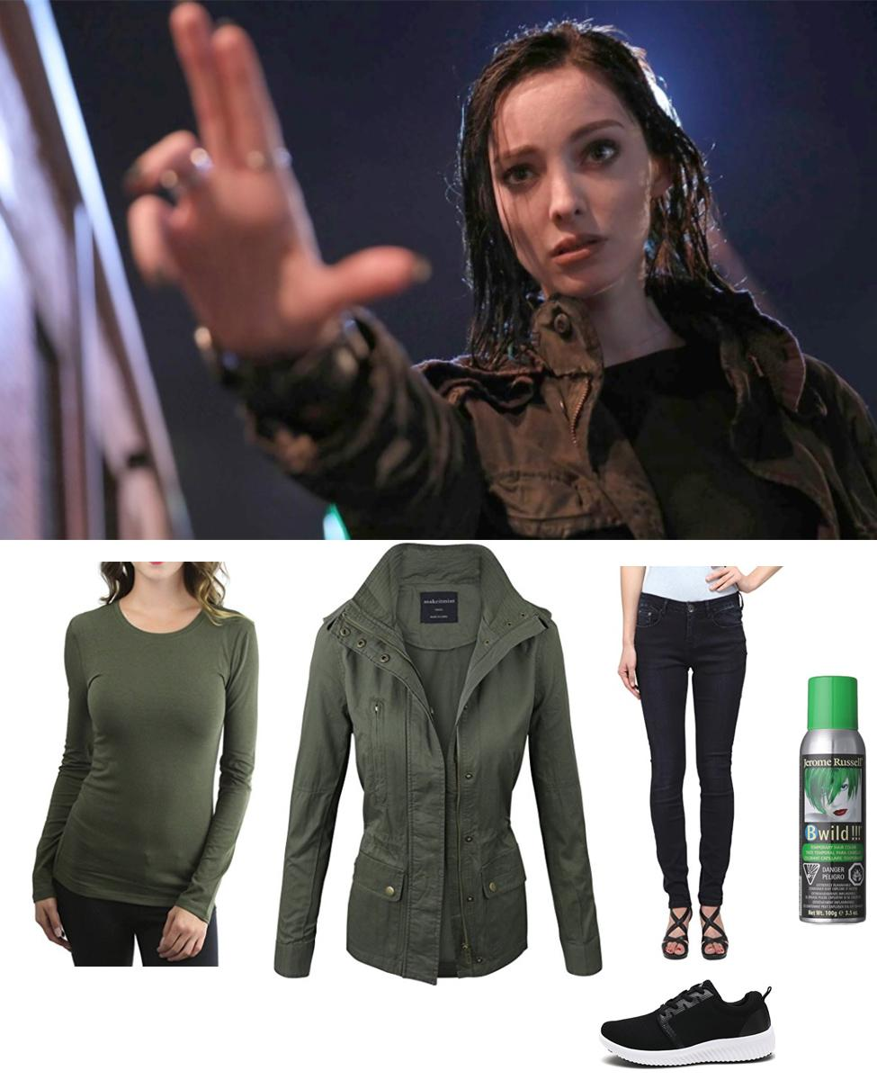 Polaris from The Gifted Cosplay Guide