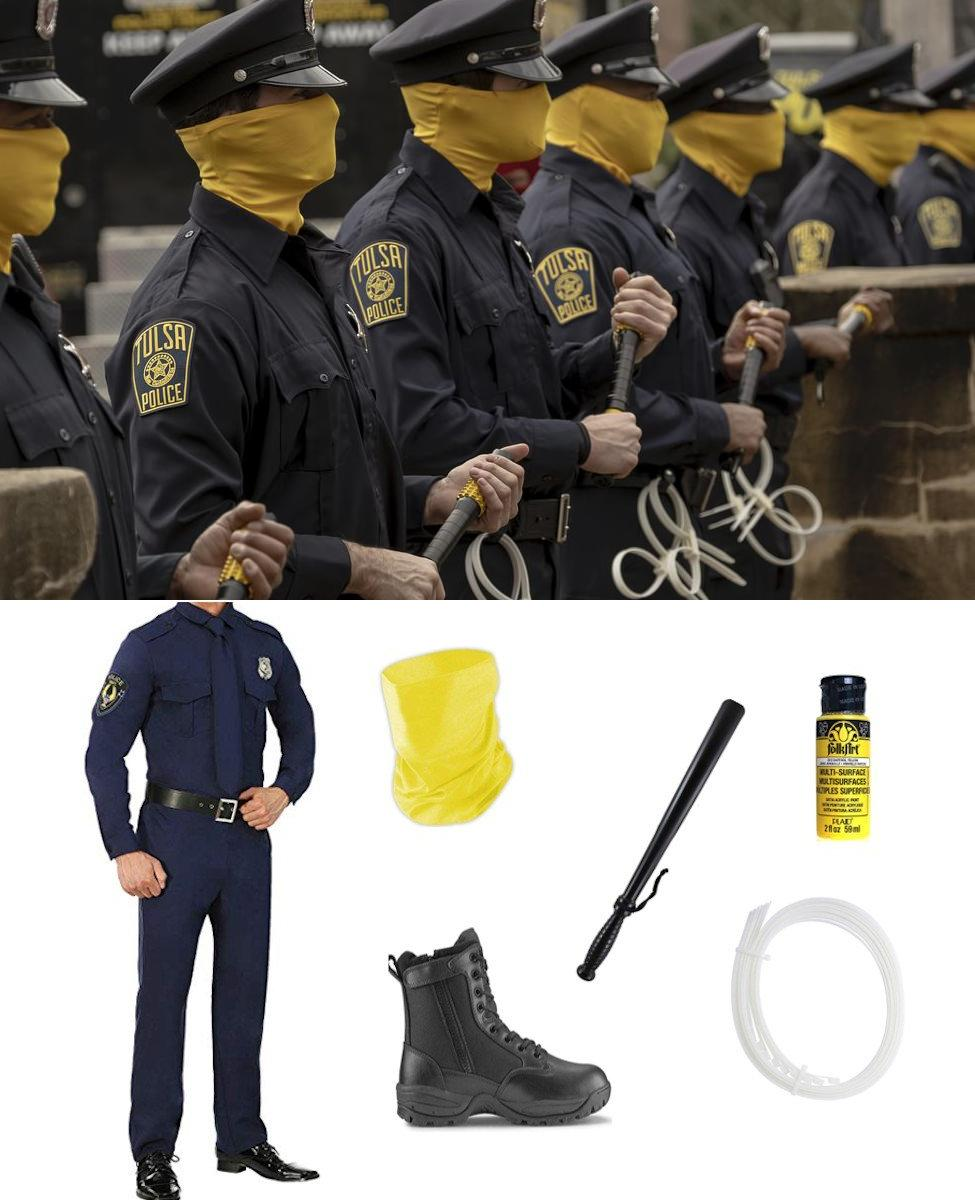 Police Officer from HBO's Watchmen Cosplay Guide