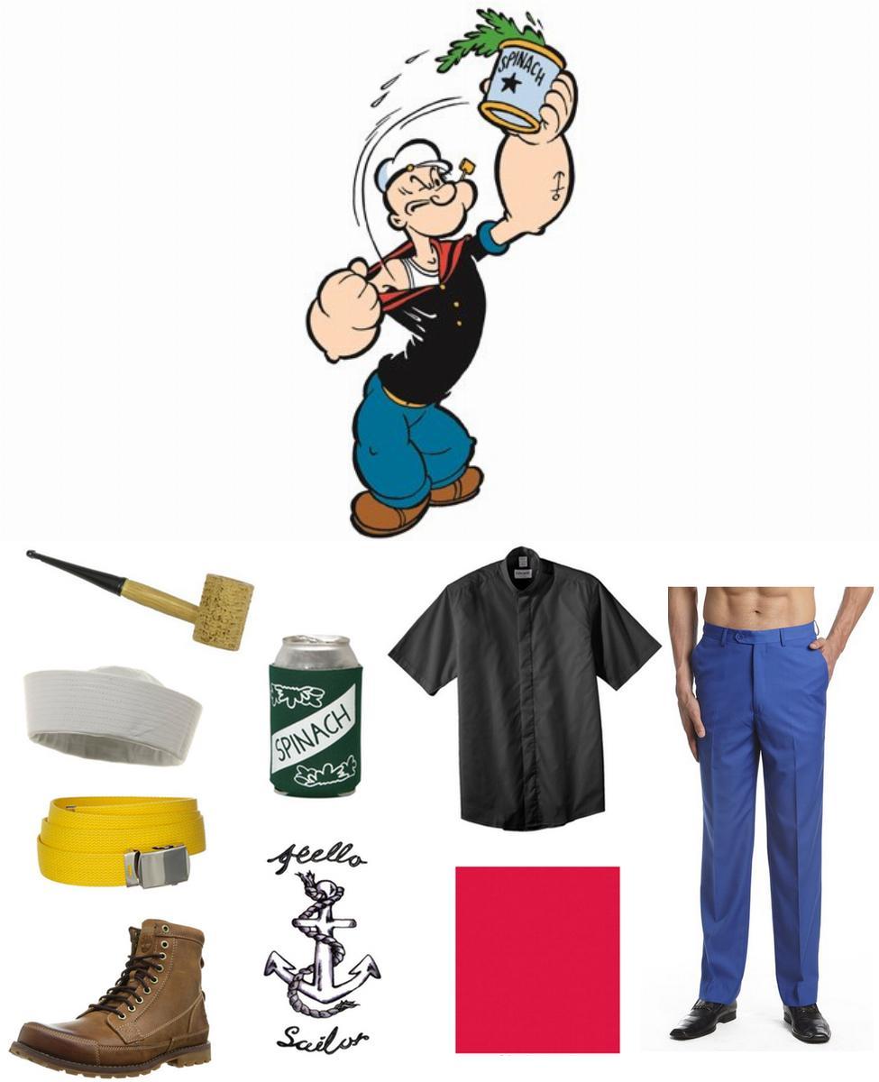 Popeye Cosplay Guide