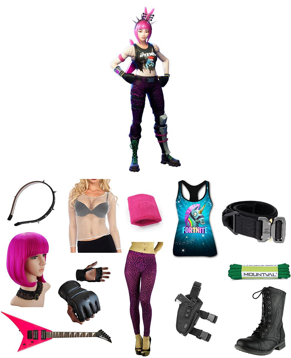 Power Chord from Fortnite Cosplay Guide