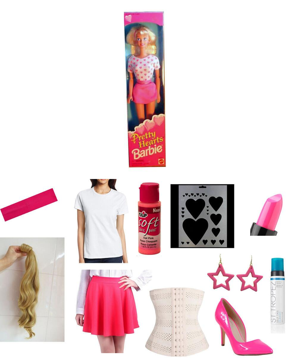 Pretty Hearts Barbie Cosplay Guide
