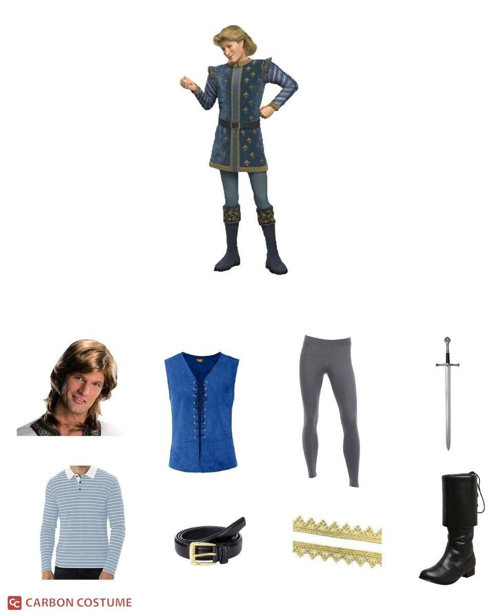 Prince Charming from Shrek Cosplay Guide