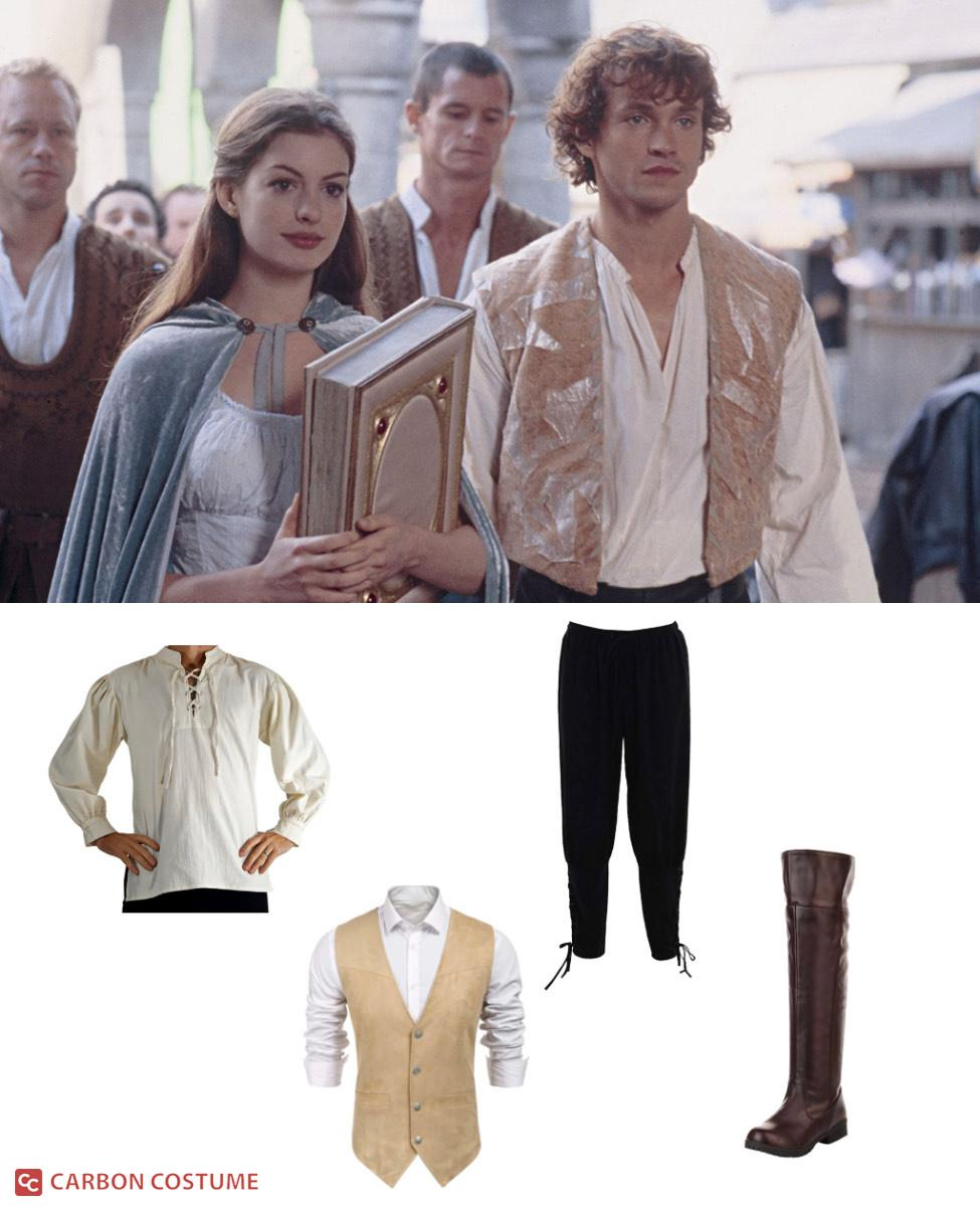 Prince Charmont from Ella Enchanted Cosplay Guide