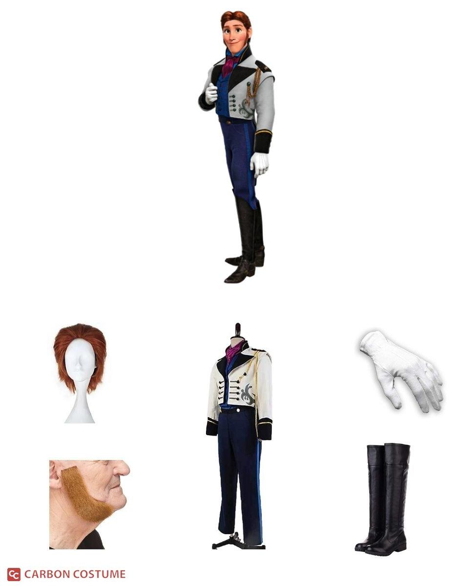 Prince Hans of the Southern Isles Cosplay Guide