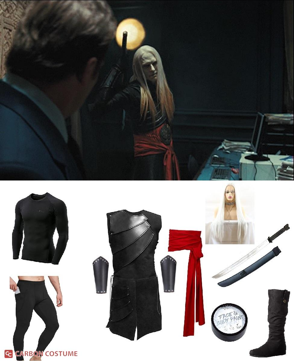 Prince Nuada Silverlance from Hellboy II: The Golden Army Cosplay Guide