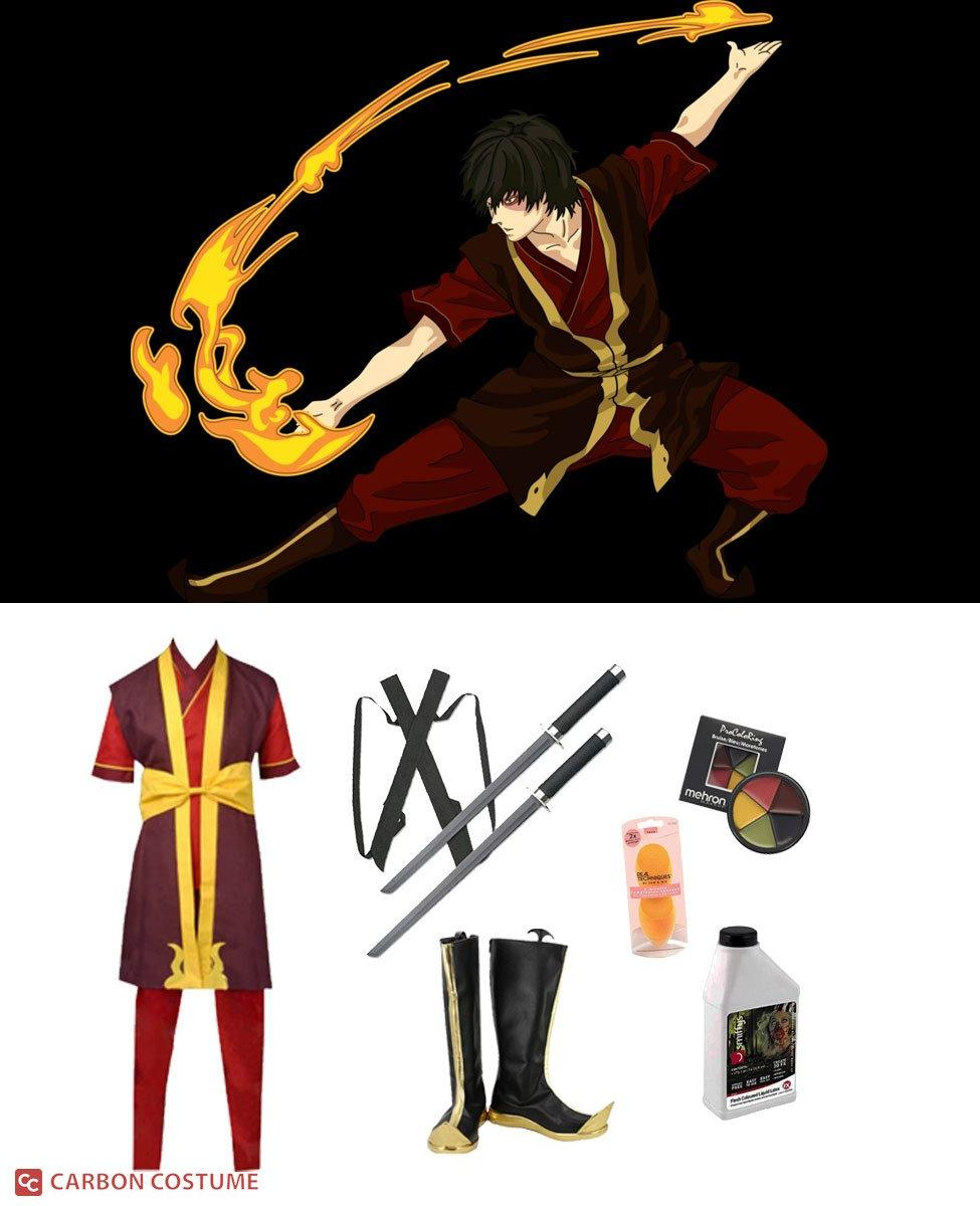 Prince Zuko from Avatar: The Last Airbender Cosplay Guide