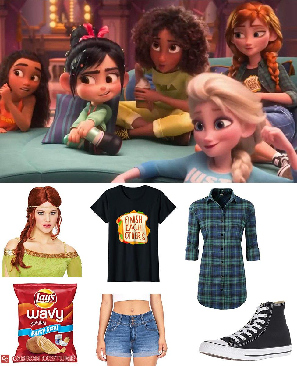 Princess Anna from Wreck-It Ralph 2 Cosplay Guide