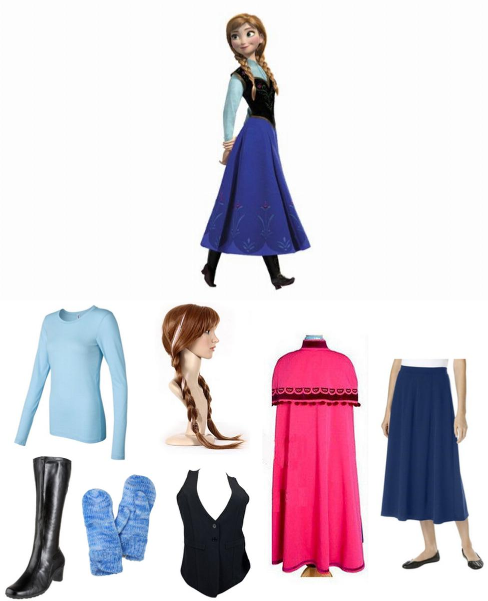 Princess Anna of Arendelle Cosplay Guide