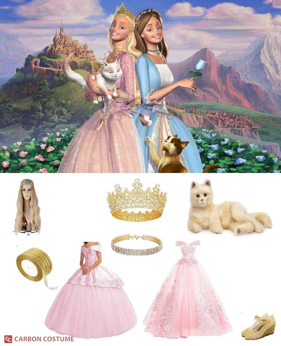 Princess Annalise from Barbie as The Princess and the Pauper Cosplay Guide