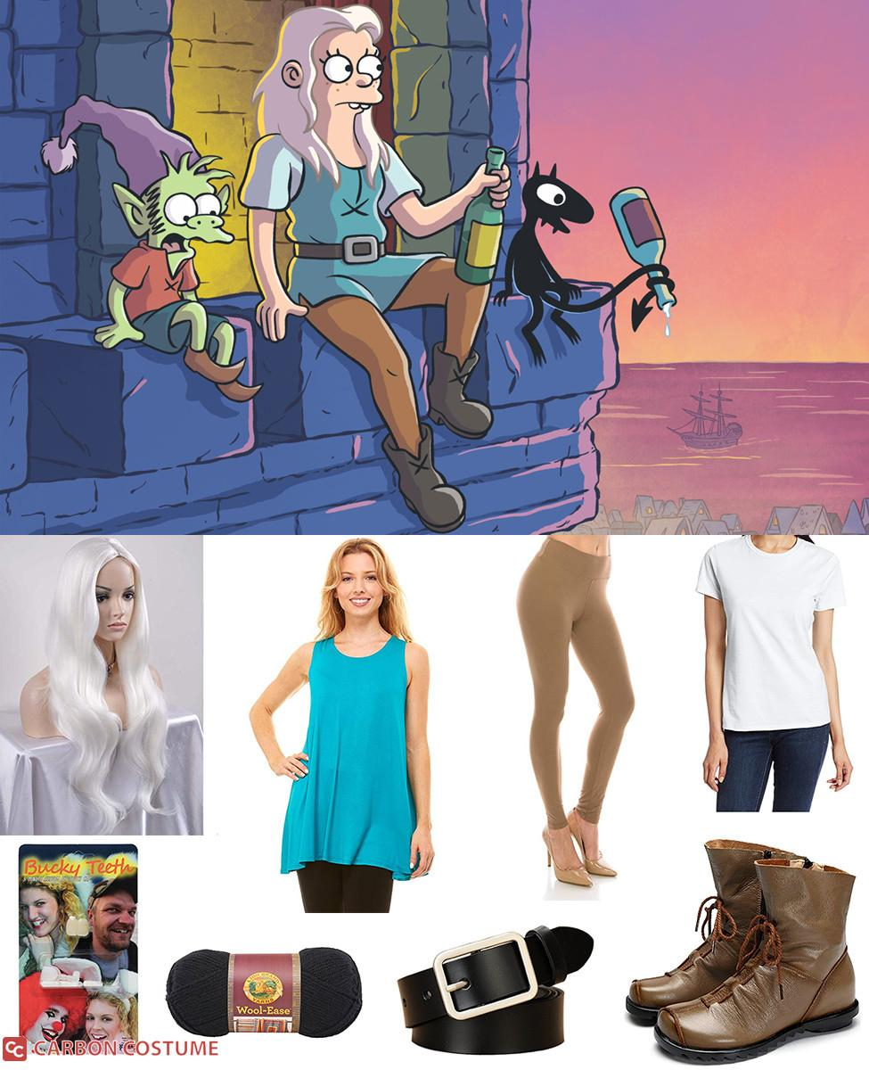 Princess Bean from Disenchantment Cosplay Guide