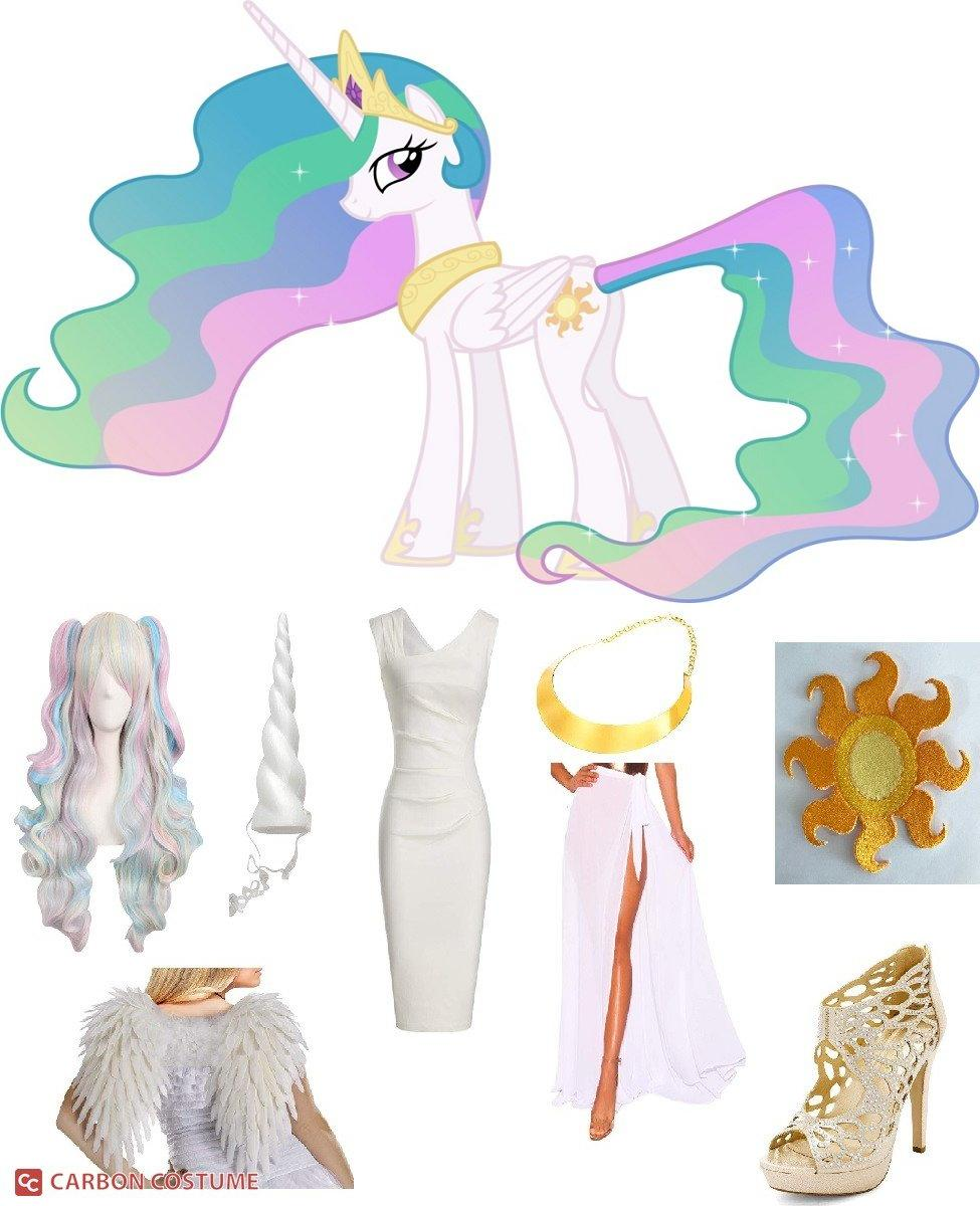 Princess Celestia from My Little Pony: Friendship is Magic Cosplay Guide
